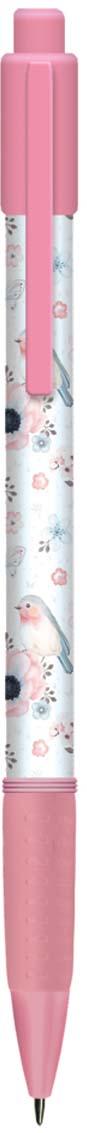 Expert Complete Ручка шариковая автомат с дизайном Compliment Birds 0,7 мм цвет чернил синий expert complete ручка шариковая stick цвет корпуса оранжевый синяя