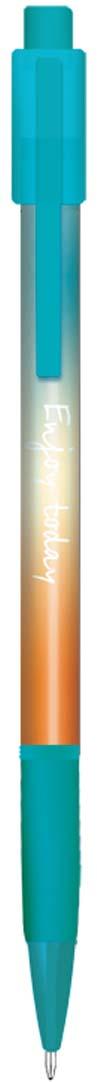 Expert Complete Ручка шариковая автомат с дизайном Fusion Greeny Orange 0,7 мм цвет чернил синий ручки expert complete ручка гелевая ассорти 10 шт page 7