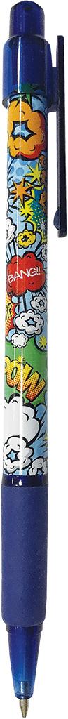 Expert Complete Ручка шариковая автомат с дизайном Lifestyles Комикс цвет чернил синий expert complete ручка шариковая stick цвет корпуса оранжевый синяя