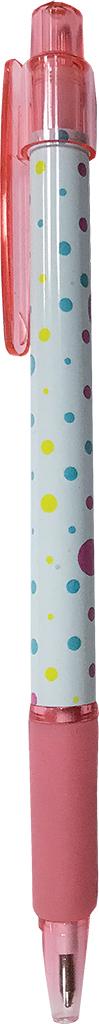 Expert Complete Ручка шариковая автомат с дизайном Lifestyles Полька цвет чернил синий 013547 expert complete ручка шариковая stick цвет корпуса оранжевый синяя