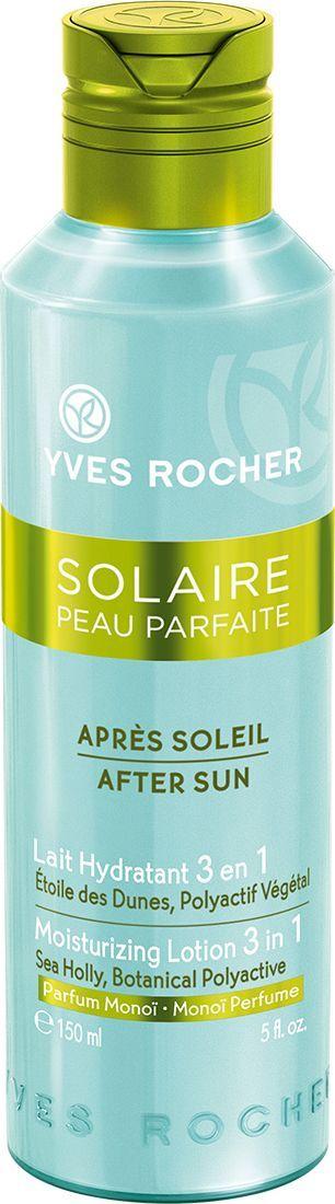 Yves Rocher Увлажняющее молочко после загара 3 в 1, 150 мл yves rocher молочко активатор загара после солнца