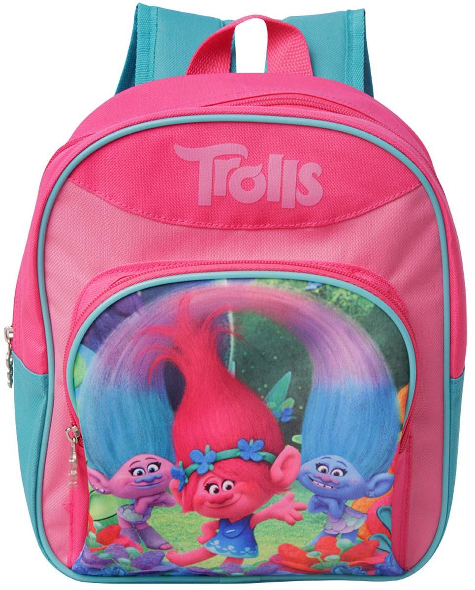 Trolls Рюкзак детский Mini цвет розовый сумки для детей pink lining детский мини рюкзак knights