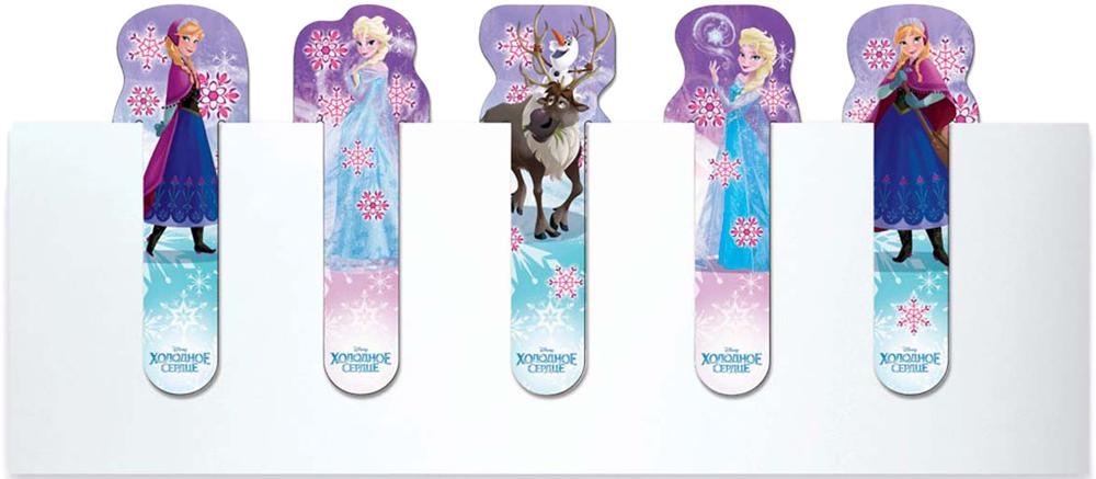 Disney Набор закладок фигурки Disney Frozen 5 шт подводный мир набор закладок серия 3 5 шт