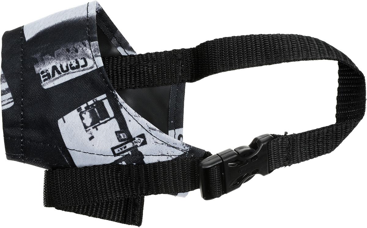 Намордник для собак Happy Friends, цветной, цвет: черно-серый, размер 2 игровой набор the bridge шарлотта земляничка 4 шт с одеждой 8 см 12254