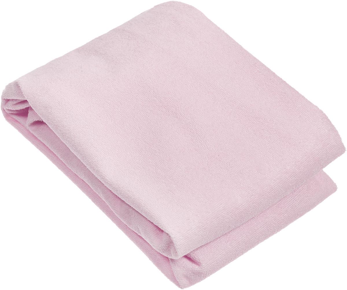 Baby Nice Наматрасник детский цвет розовый 75 х 125 см
