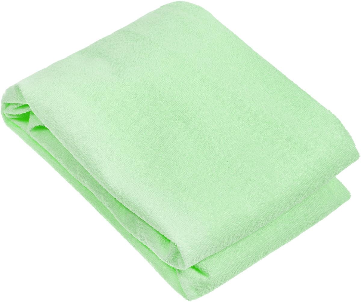Baby Nice Наматрасник детский цвет светло-зеленый 75 х 125 см