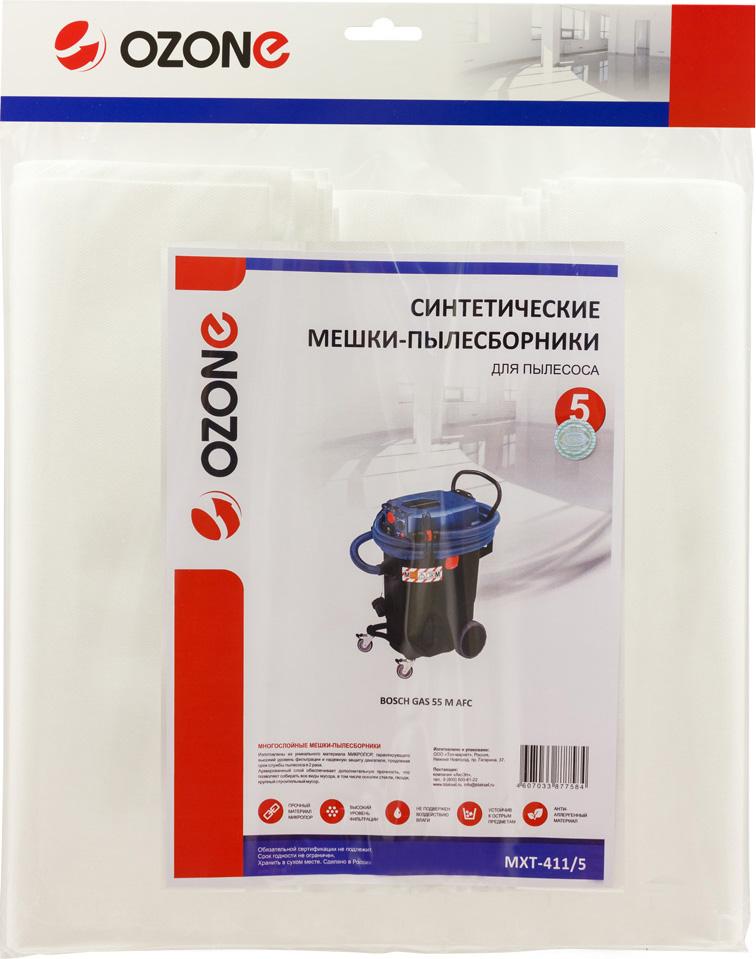 Ozone MXT-411/5пылесборник для профессиональных пылесосов 5 шт Ozone
