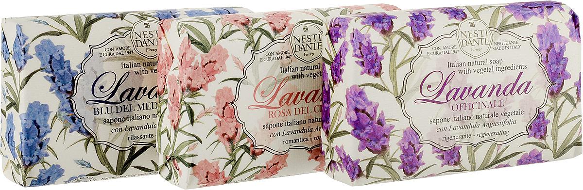 Nesti Dante Набор мыла Lavanda, 3 шт х 150 г набор мыла nesti dante набор мыла