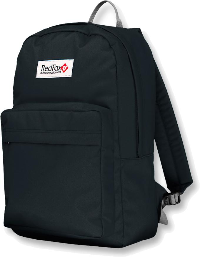 Рюкзак детский городской Red Fox Bookbag L1, цвет: черный, 30 л red fox рюкзак river 2l 2200 кирпич