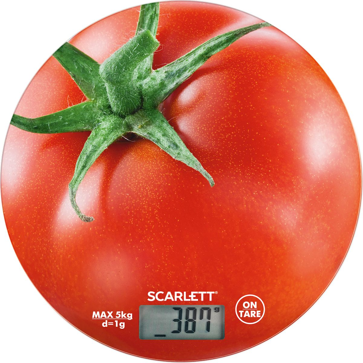 Scarlett SC-KS57P38, Red весы кухонные