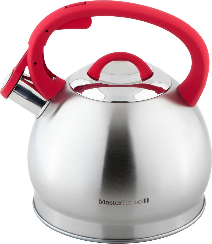 Чайник со свистком 2,8л. Толщина стенок 0,5мм. Толщина дна 3,5 мм.(нержавеющая сталь 18/10 0,5мм, алюминий 0,5мм, железо 1,5мм , алюминий 0,5мм, нержавеющая сталь 430 0,5мм). Чайник изготовлен из высококачественной нержавеющей стали марки 18/10, что гарантирует безупречный внешниий вид, практичность и долговечность. Полировка - матовая. Капсулированное дно с алюминиевой вставкой обеспечивает быстрое нагревание и равномерное распределение тепла, обладает термоаккумулирующими свойствами и сокращает время нагрева воды. Ненагревающаяся бакелитовая ручка с мягким напылением приятного оттенка удобна и не скользит. Подходит для всех видов плит, включая индукционную.