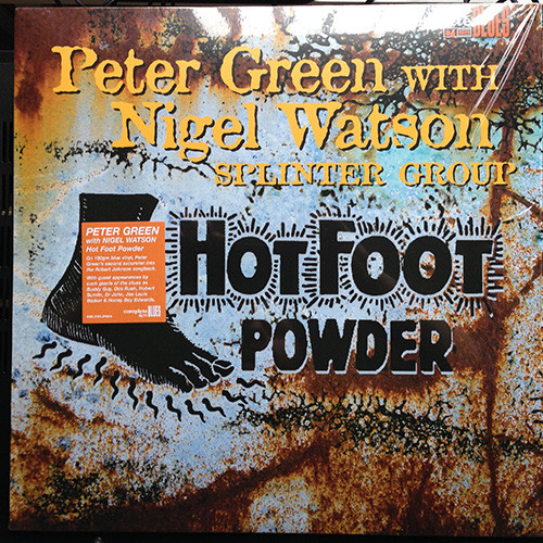 Peter Green,Найджел Ватсон Green Peter With Nigel Watson. Hot Foot Powder (LP) hot sale classics hydrosana life foot detox spa with mp3