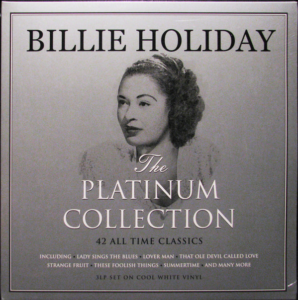 Билли Холидей Billie Holiday. The Platinum Collection (3 LP) cd billie holiday the centennial collection