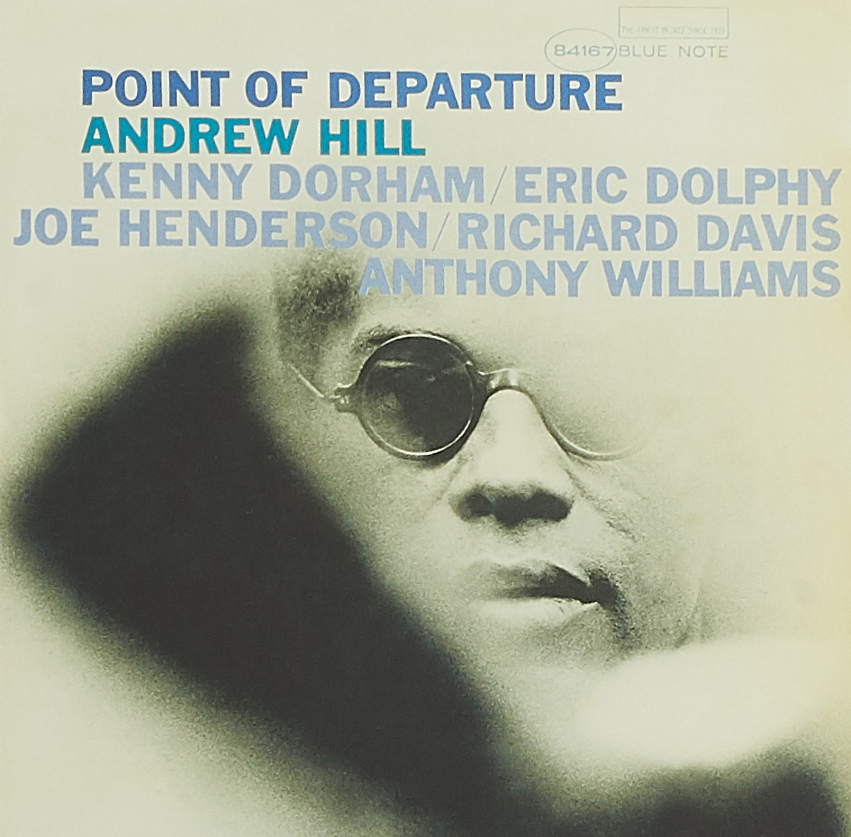 HILL, ANDREW. POINT OF DEPARTURE