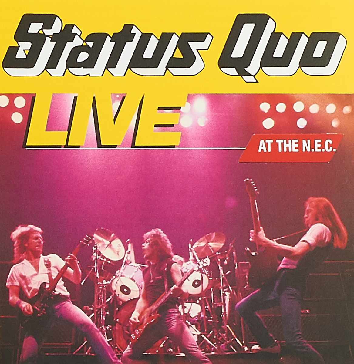 Status Quo. Live At The N.E.C. status quo just doin it live in concert