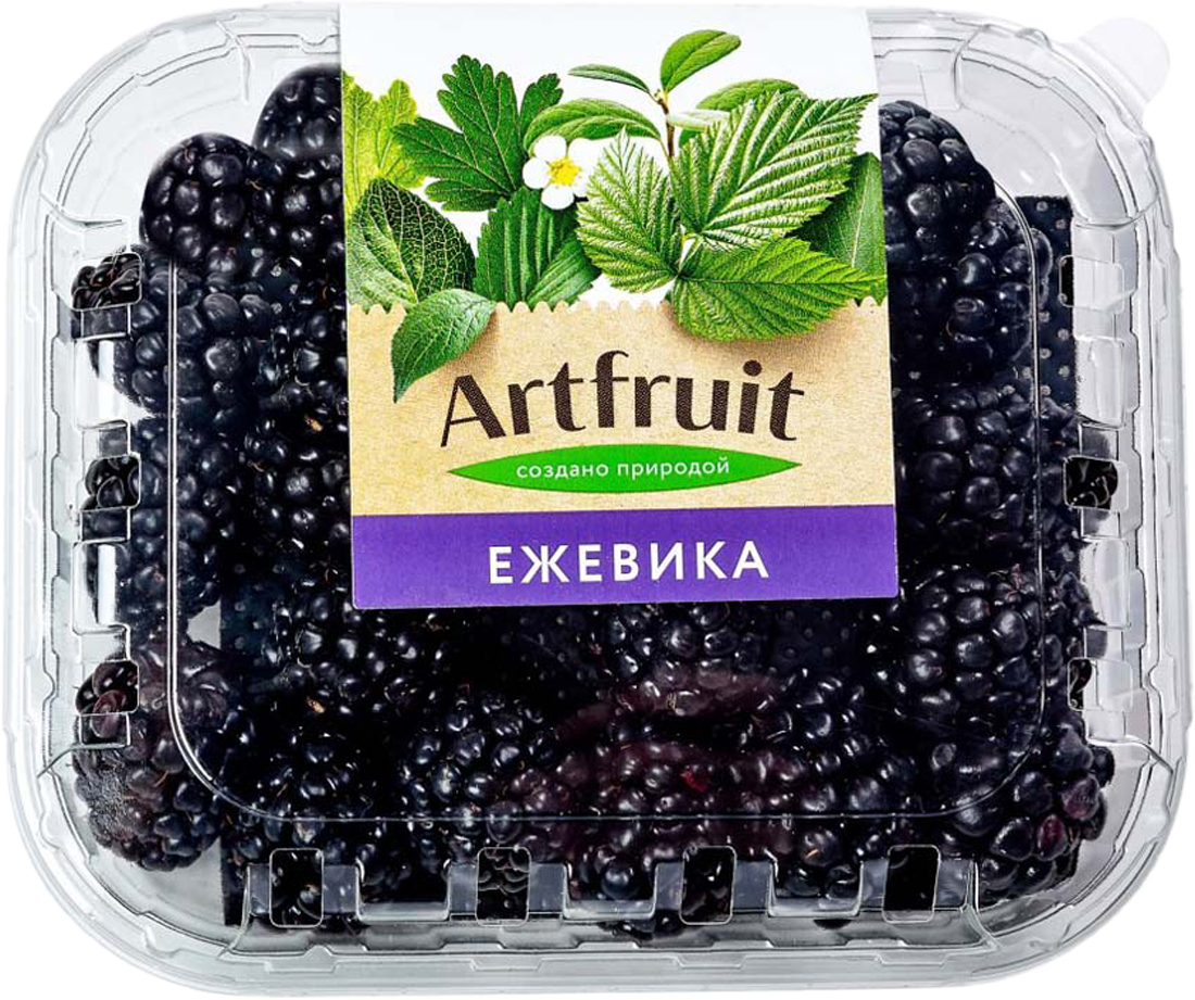 Artfruit Ежевика, 125 г салат мизуна 125 г