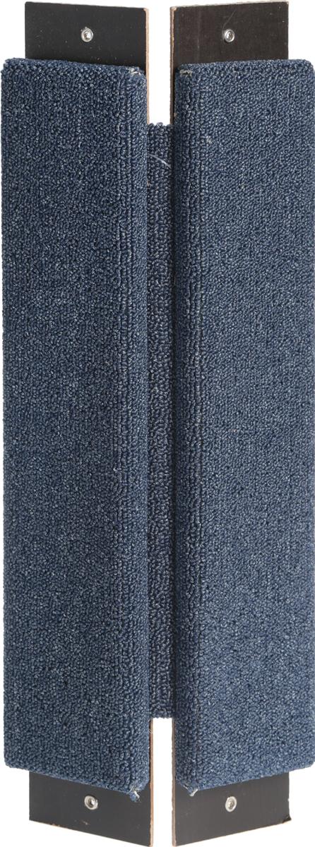 Когтеточка угловая Гамма Ковролин, цвет: синий