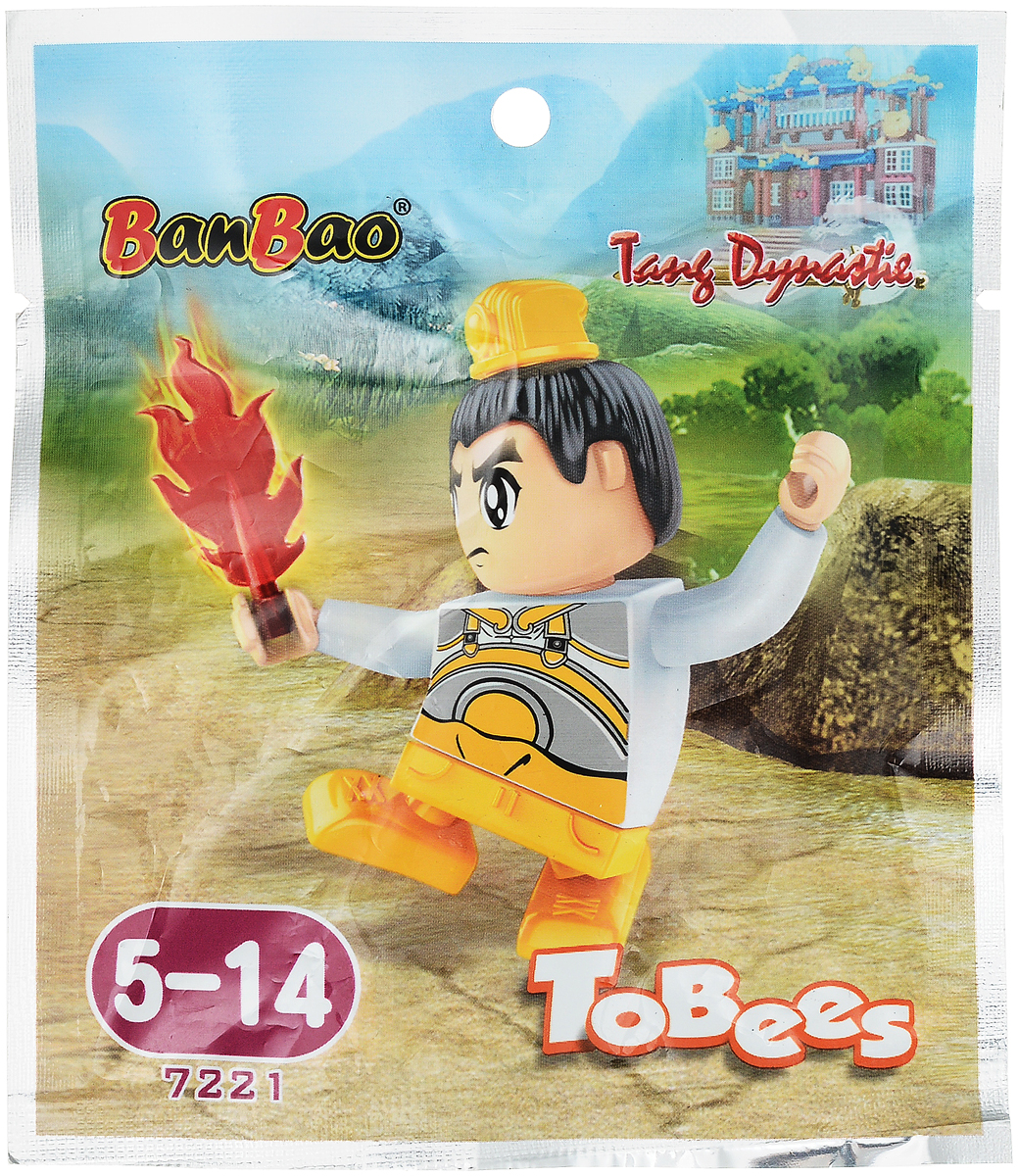 BanBao Конструктор Фигурка Tobees 7221