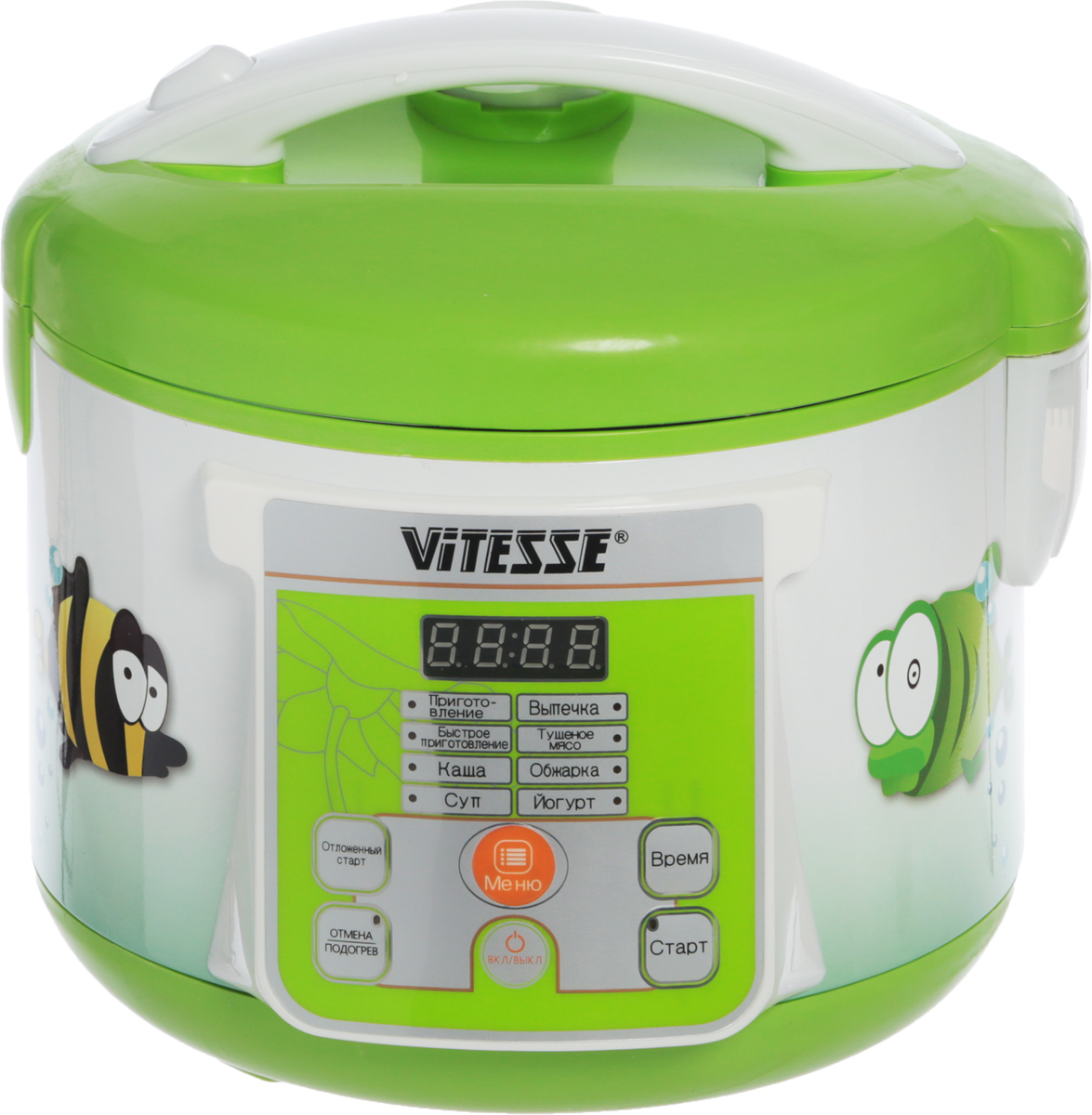 Vitesse VS-585, Light Green мультиварка vitesse vs 1212
