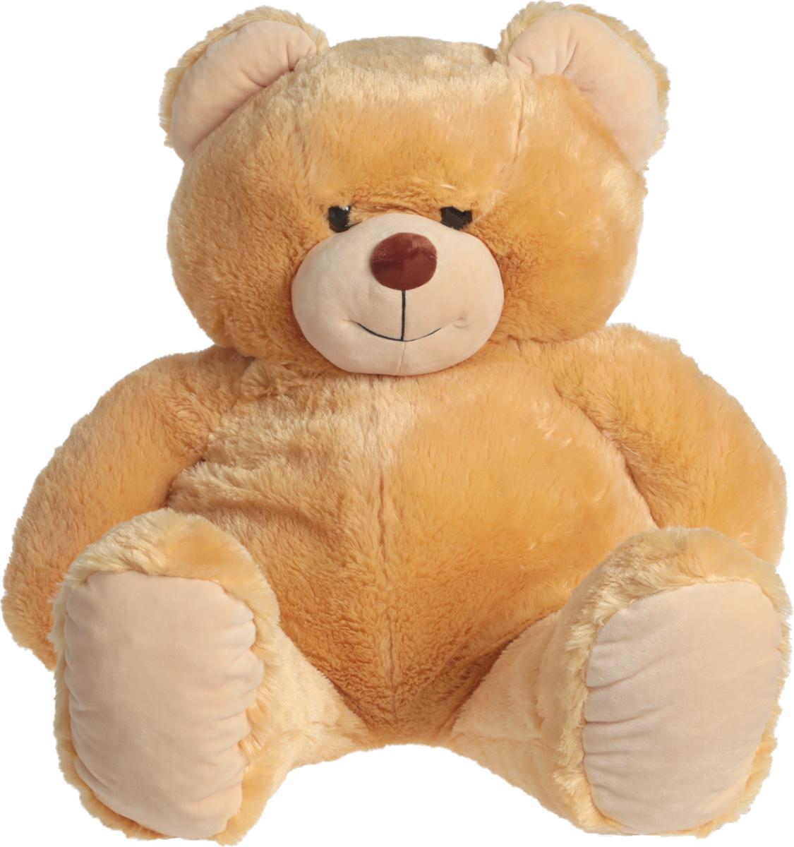 цена СмолТойс Мягкая игрушка Медведь цвет светло-бежевый 103 см