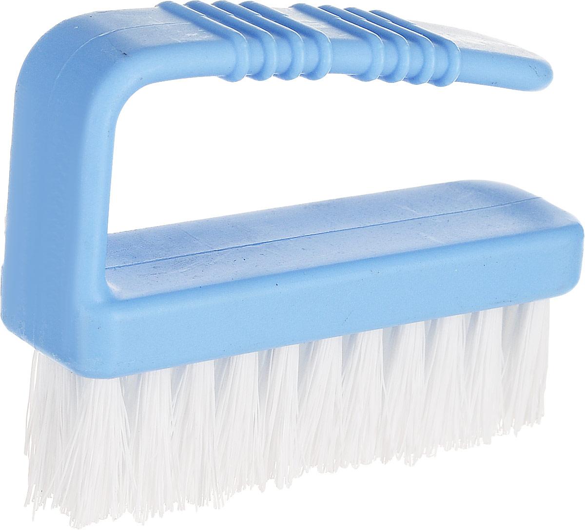 Щетка для рук Альтернатива, цвет: голубой комплект для уборки альтернатива комфорт жесткая щетина цвет синий 2 предмета
