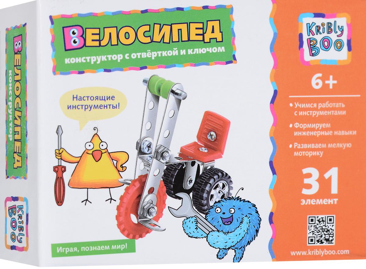 Kribly Boo Конструктор Велосипед 65298 boo abc