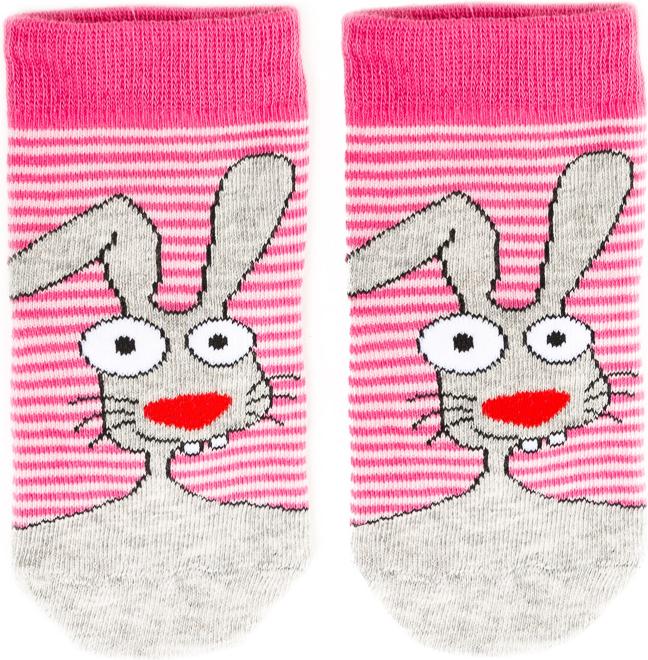Носки детские Mark Formelle, цвет: ярко-розовый. 400K-433_B3-8400K. Размер 16 (25/27)