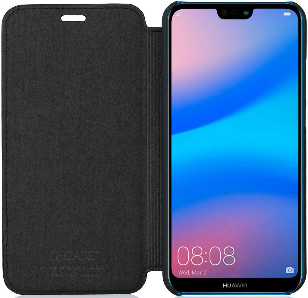 G-Case Slim Premium чехол для Huawei P20 Lite, Black чехол для asus zenfone 4 ze554kl g case slim premium черный накладка