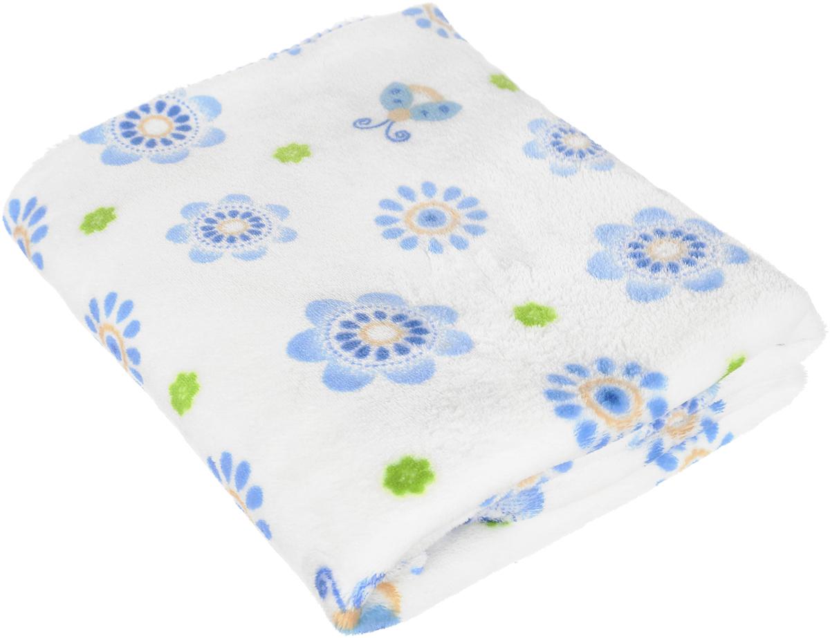 Споки ноки Плед детский Ultrasoft цвет голубой 100 х 118 см споки ноки комплект в кроватку облака цвет голубой 3 предмета