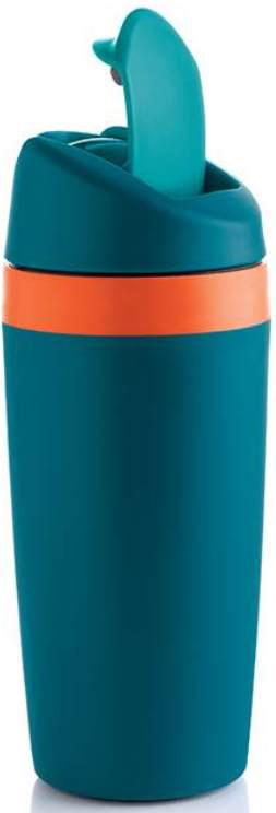 Термостакан изготовлен из легкого и прочного пищевого полимера, устойчивого к воздействию высоких температур.Воздух между двойными стенками Термостакана обеспечивает термоизоляцию и сохранение тепла. Ваш напиток остается горячим в течение 1,5 часов. За 3 часа он станет комфортно теплым.Благодаря герметичной откручивающейся крышке и уплотнителю обеспечивается 100%-ная защита от разливания жидкости.Термостакан удобно лежит в руке. Горячий напиток не обжигает. Бархатистая поверхность стакана дарит приятные тактильные ощущение.Клапан крышки откидывается на 180 градусов движением пальца и фиксируется в этом положении, что дарит удобство питья.Термостакан идеален для прогулок. Как приятно потягивать горячий кофе или травяной чай с имбирем в заснеженном лесу или городском парке! Зимой напиток в Термостакане можно взять на каток. Летом — на велосипедную прогулку.В отличие от термосов со стеклянной колбой, Термостакан не разобьется. Он умещается в боковые отсеки рюкзаков, что важно для любителей туристических походов.Летом Термостакан сохранит температуру освещающих ледяных напитков: морсов, соков, коктейлей.Возьмите Термостакан в автомобильную поездку: диаметр его дна соответствует автомобильным подстаканникам.Цвет внутренней поверхности стакана соответствует оттенку кольца наверху основания.Термостакан — прекрасный подарок мужчине. Ваш муж или папа будет с удовольствием потягивать эспрессо в автомобильных пробках или общественном транспорте.