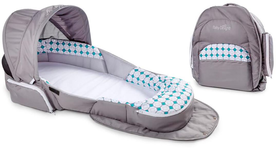 Baby Delight Дополнительная кровать Traveler BL цвет серый