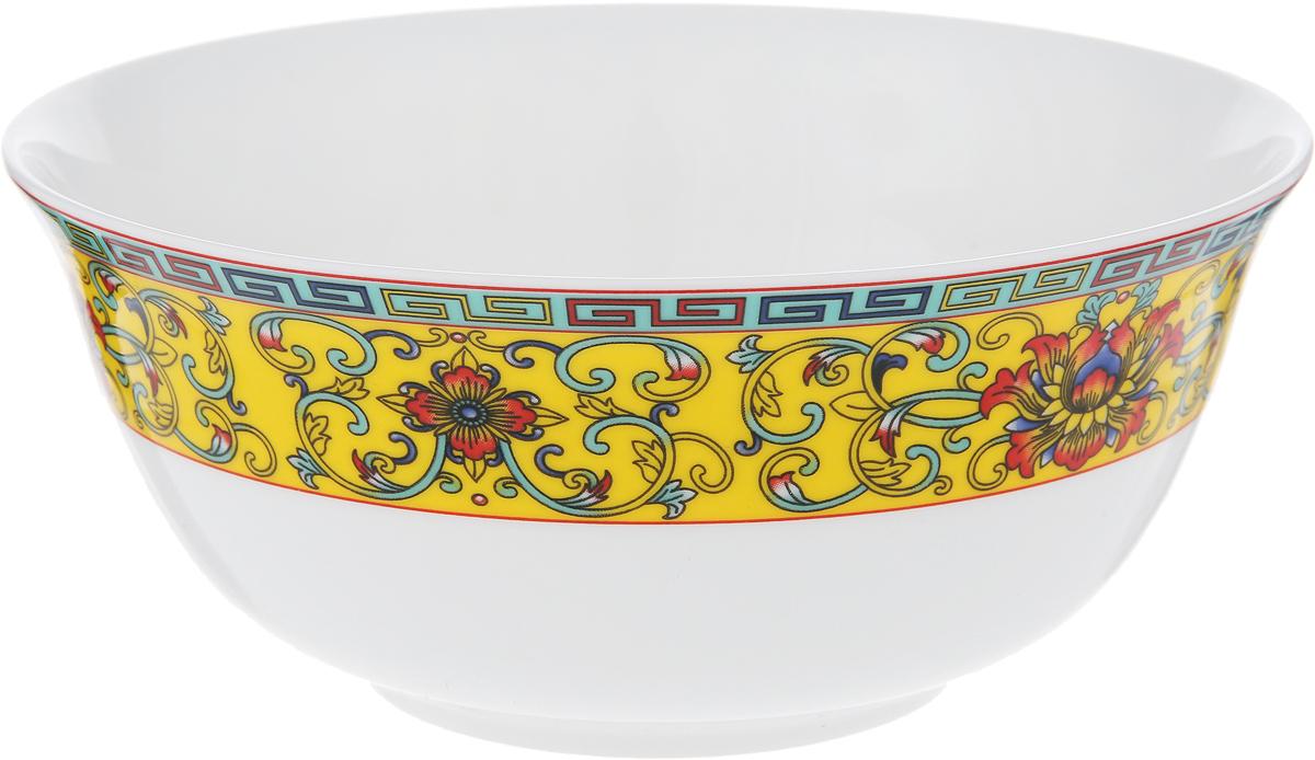 """Восторг салатник 15 см 1 шт. Материал: костяной фарфор. Фарфор """"Royal Aurel"""" отличается исключительной белизной, что объясняется уникальными компонентами и традиционной технологией, по которой он был изготовлен. Белая глина из провинции Фуцзянь и традиционные рецепты китайских мастеров создают неповторимую композицию. Дизайн коллекций выполнен в соответствии с актуальными европейскими тенденциями."""