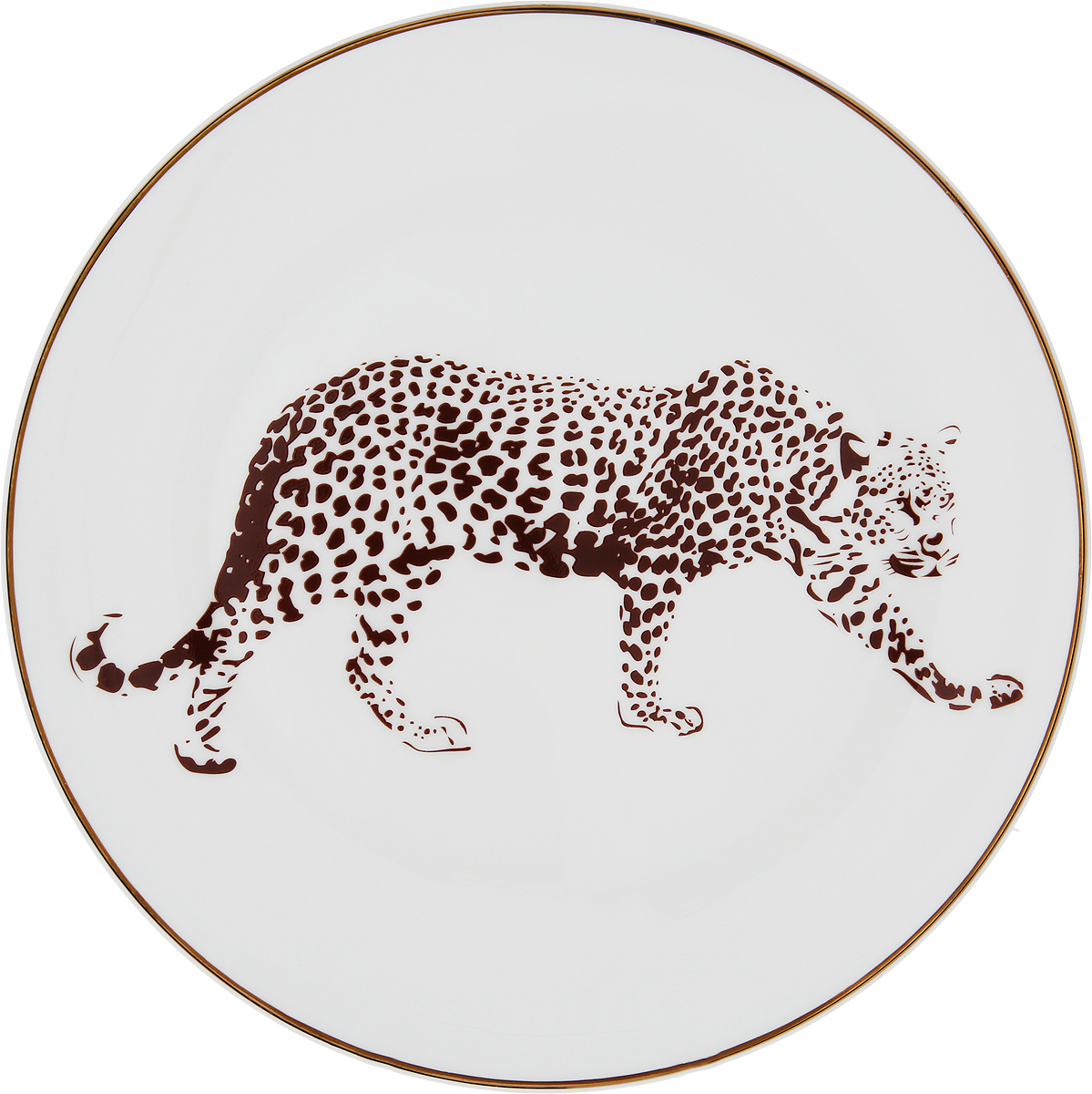 Тарелка плоская Royal Aurel Сафари, диаметр 20 см royal aurel тарелка плоская тюльпан 23 5 см 550r royal aurel