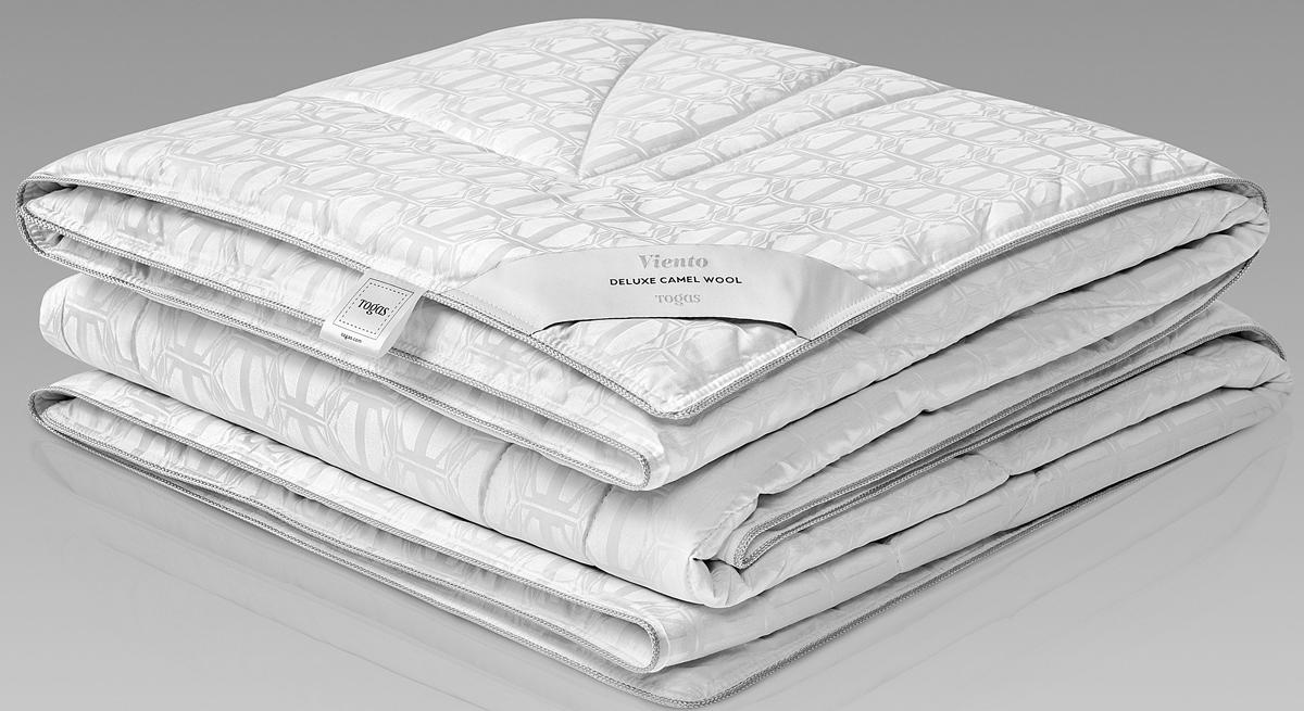 Одеяло Togas Виенто, наполнитель: верблюжий пух, цвет: белый, 220 x 240 см одеяла togas одеяло нобилис 200х210 см