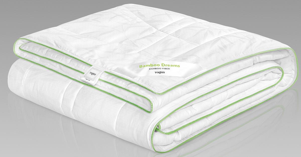 Одеяло Togas Бамбук Дримс, наполнитель: бамбуковое волокно, цвет: белый, 140 x 200 см одеяла togas одеяло нобилис 200х210 см