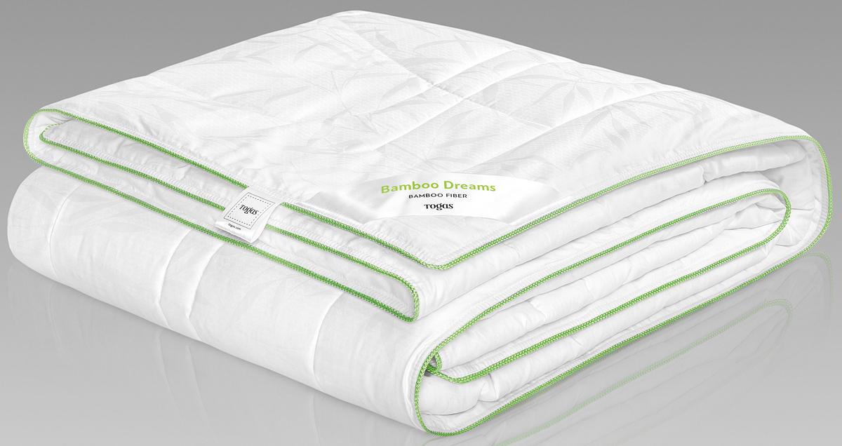 Одеяло Togas Бамбук Дримс, наполнитель: бамбуковое волокно, цвет: белый, 220 x 240 см одеяла togas одеяло нобилис 200х210 см
