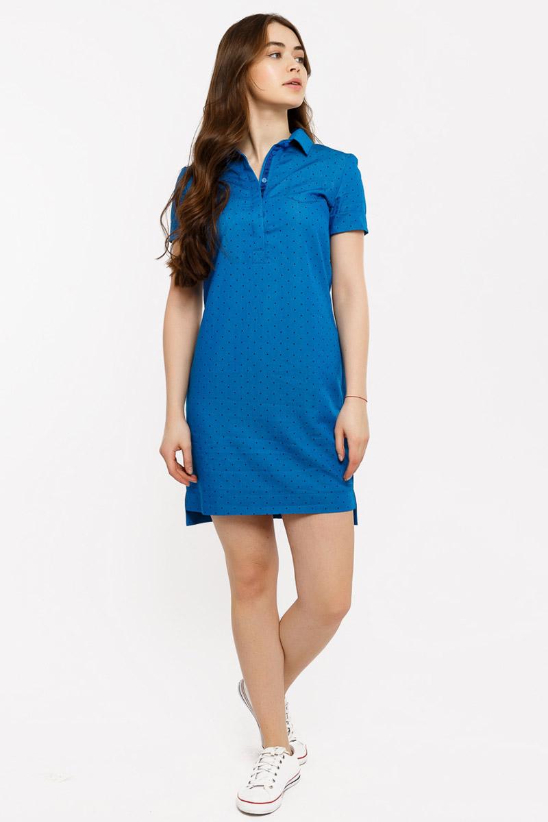 Платье домашнее Mark Formelle, цвет: синий. 2043-9. Размер 42