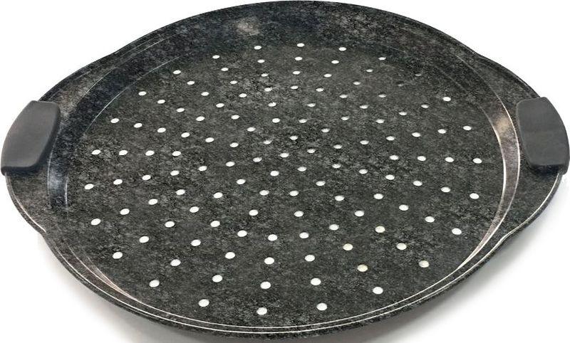 Форма для пиццы Steinfurt 37 х 33 см в бумажной обертке. Изготовлена из стали с антипригарным покрытием. Сочетание материалов и технологии придаёт посуде необходимую лёгкость и практичность использования. Мыть предметы из стали рекомендуется обычной губкой и жидким моющим средством. Пользоваться металлическими мочалками, абразивными чистящими средствами и средствами с хлором не рекомендуется. После мытья, чтобы избежать образования известкового налета, предметы из нержавеющей стали необходимо насухо вытирать мягкой впитывающей тканью.