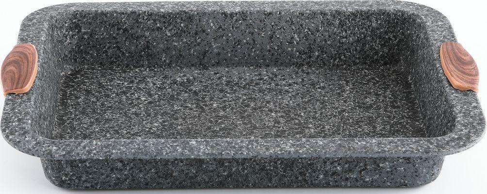 Противень Steinfurt 36,5 х 24,5 см в бумажной обертке. Изготовлена из стали с антипригарным покрытием. Сочетание материалов и технологии придаёт посуде необходимую лёгкость и практичность использования. Мыть предметы из стали рекомендуется обычной губкой и жидким моющим средством. Пользоваться металлическими мочалками, абразивными чистящими средствами и средствами с хлором не рекомендуется. После мытья, чтобы избежать образования известкового налета, предметы из нержавеющей стали необходимо насухо вытирать мягкой впитывающей тканью.