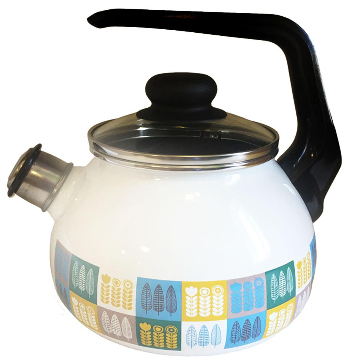 """Чайник эмалированный Appetite """"Мирта"""" - гигиеничен и устойчив к износу при длительном использовании. Гладкая и ровная поверхность существенно облегчает уход за посудой."""