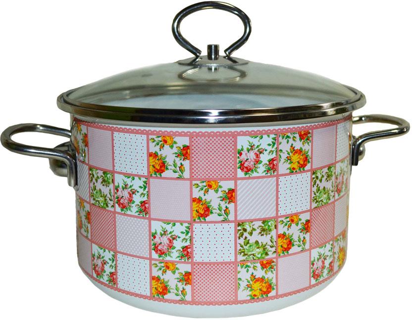 """Кастрюля эмалированная Appetite """"Marta"""" станет украшением вашей кухни и поможет вам готовить вкусные блюда."""