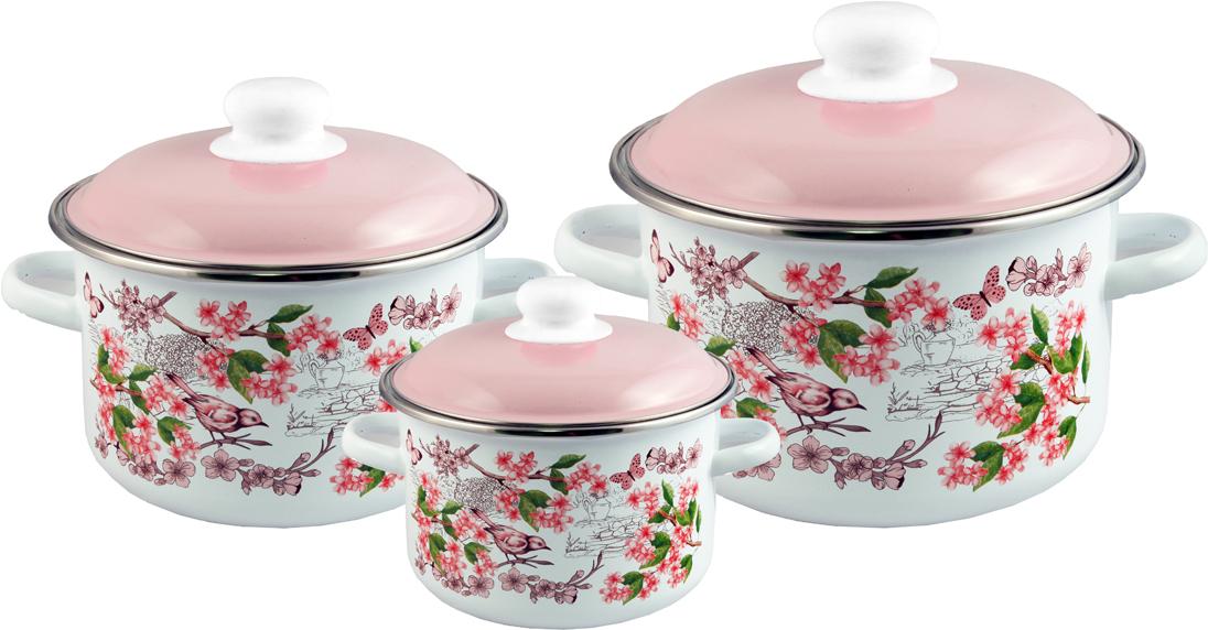 """Набор посуды Appetite """"Bird"""" станет украшением вашей кухни и поможет вам готовить вкусные блюда."""