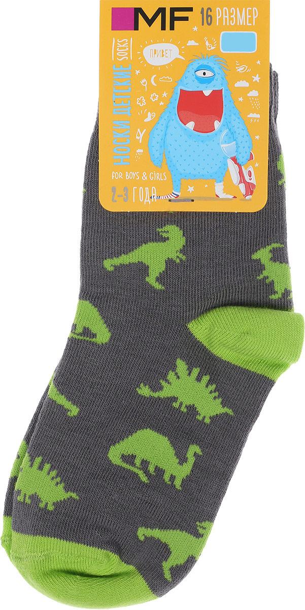 Носки детские Mark Formelle, цвет: серый. 400K-592_B3-8400K. Размер 18 (28/30)