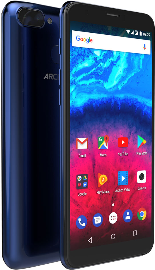 Archos Core 57S, Blue yuntab 10 1inch k107 tablet pc quad core 1gb 16gb phablet with dual camera 0 3mp 2mp support dual sim card slots
