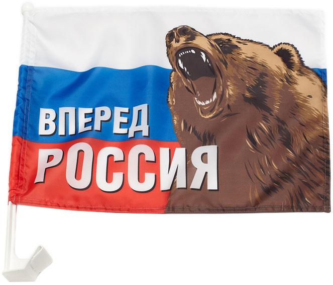 Флаг автомобильный РусФлаг