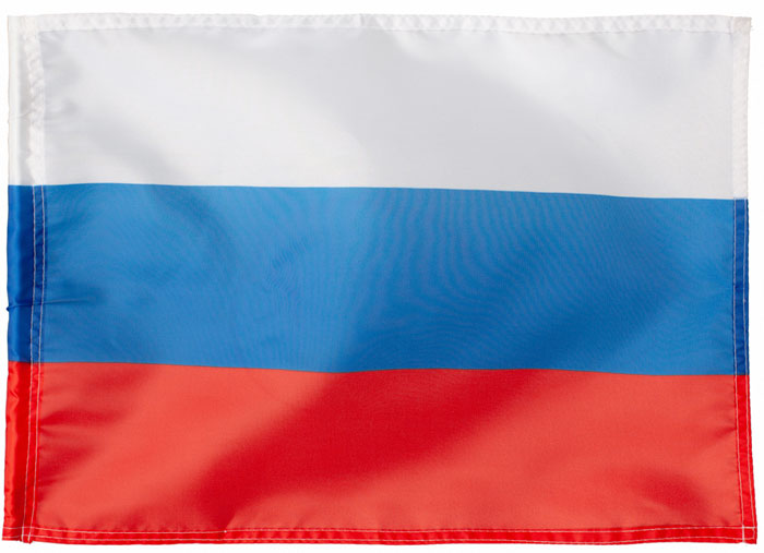 "Флаг РусФлаг ""Триколор. Россия"", 12 х 18 см"