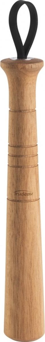 Идеальный подарок для любителей коктейлей! Измельчённые свежие фрукты и травы придадут неповторимый вкус и аромат вашему напитку. Эргономичная форма мадлера компактна, но прибор по-прежнему удобен для изготовления коктейлей как в шейкерах, так и в обычных стаканах. Мадлер для коктейлей изготовлен из натурального дерева акации, известной своей прочностью. Каждый инструмент имеет уникальный древесный рисунок. Для более удобного использования мадлер оснащён кожаным ремешком.