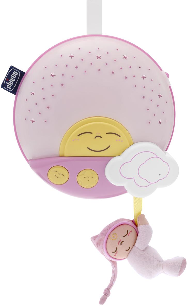 Chicco Игровая панель на кроватку Sunset цвет розовый музыкальная подвеска на кроватку chicco чико спокойной ночи цвет голубой