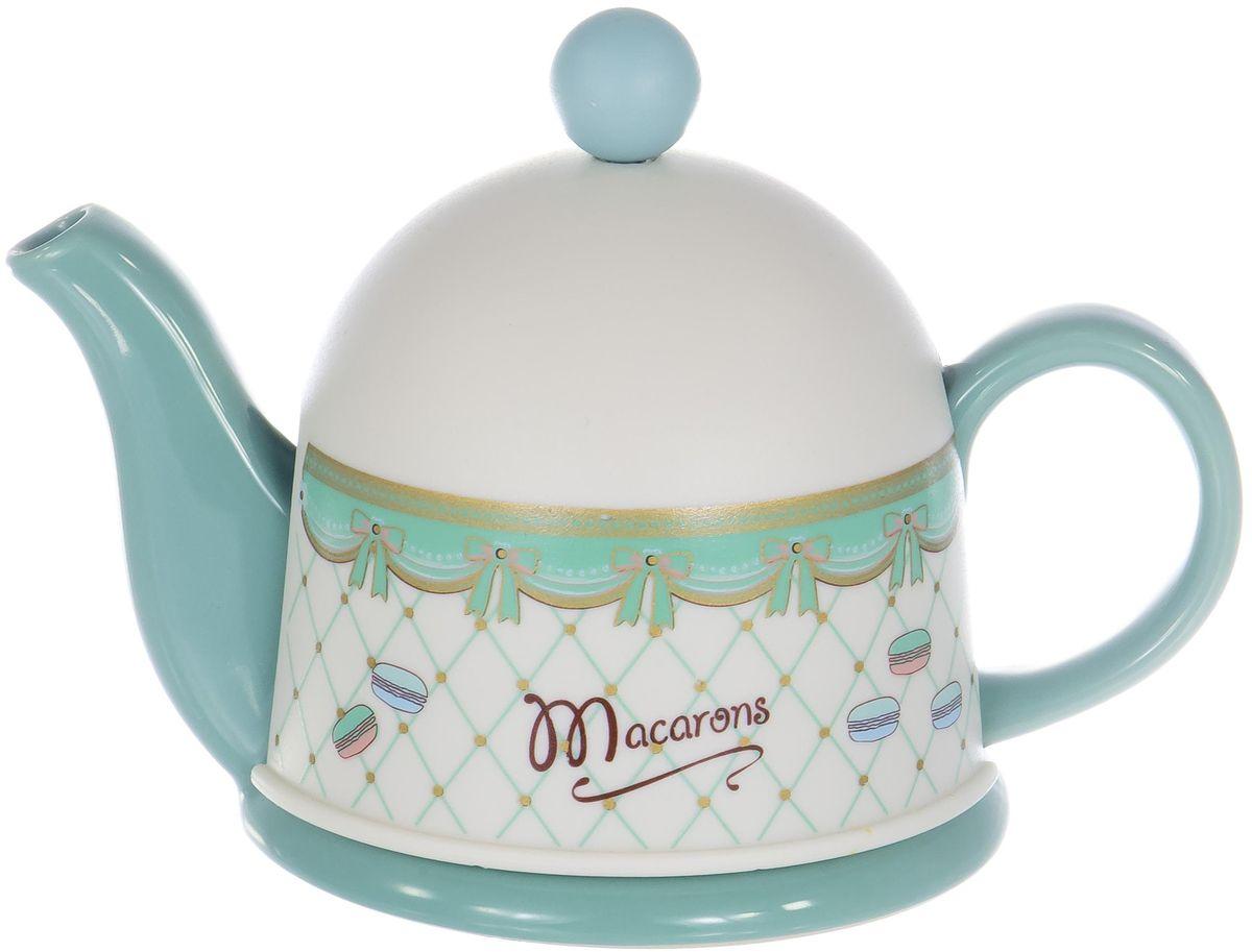Заварочный чайник Elrington изготовлен из высококачественной керамики, есть пластиковая крышка для сохранения температуры. Изделие прекрасно подходит для заваривания вкусного и ароматного чая, а также травяных настоев. Красочный дизайн сделает чайник настоящим украшением стола.