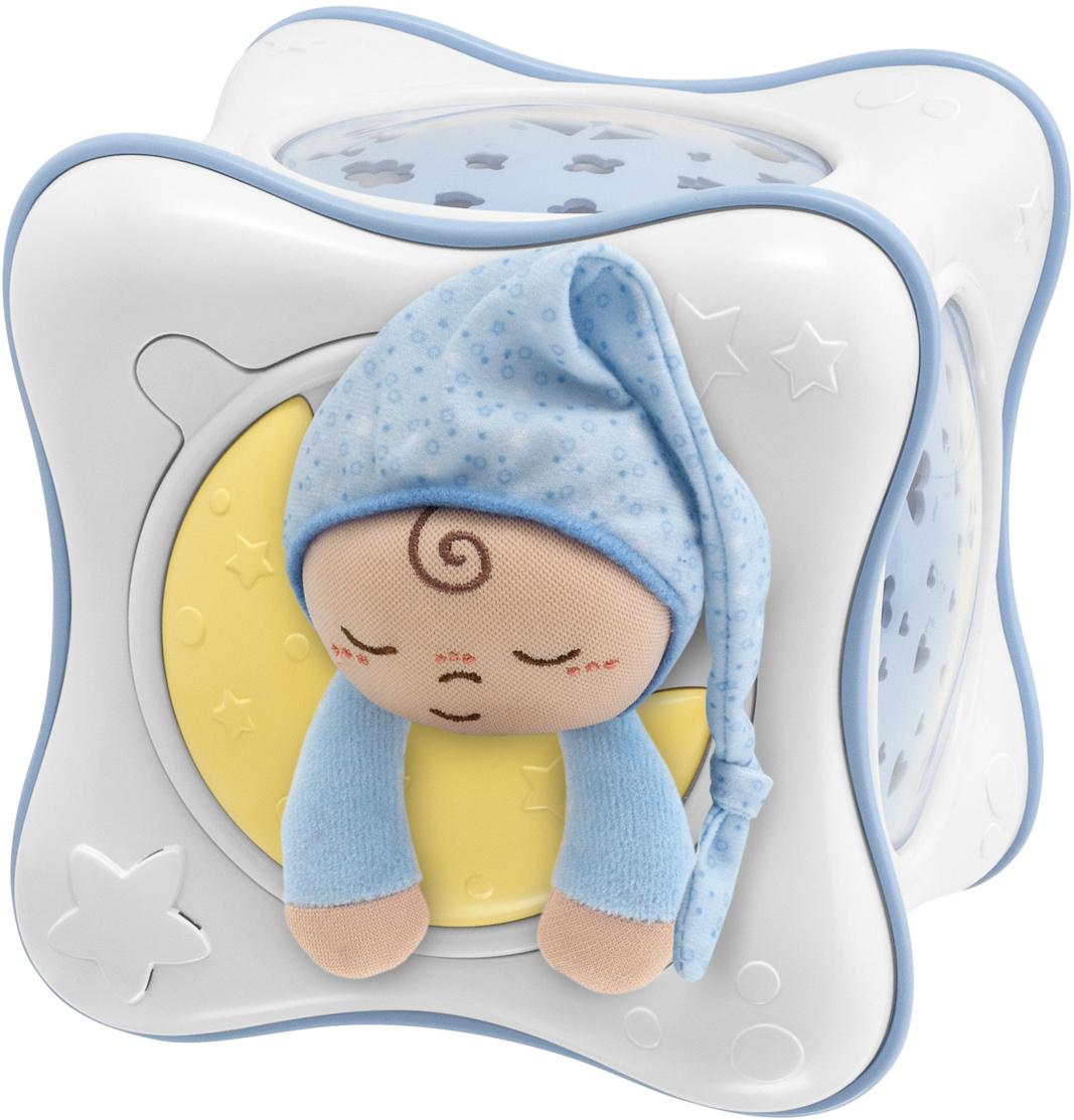 Chicco Ночник Проектор-куб Радуга цвет голубой цена